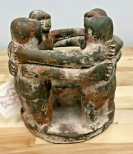 Circle Of Friends Candle Holder Mayan Aztec Handcrafted In Mexico Mi Casa