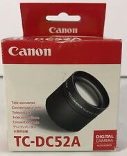 Canon TC-DC52A Tele-Converter Digital Camera Accessories Photography Pictures