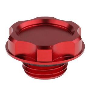 Filler Cover Screw Engine Oil Filler Cap for Honda Fit EK Civic EG Red