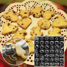 Stainless Biscuit Mould Cartoon Shape Cake Mold Sugarcraft Pastry Cookie Cutter