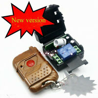DC 12v 10A relay 1CH wireless RF Remote Control Switch Transmitter+ Receiver LS