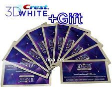 Crest 3D White Luxe Whitestrips Professional Effects 20 Strips / 10 Pouches