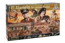 Italeri 6181 - 1/72 Battle Set - El Alamein The Railway Station - Neu