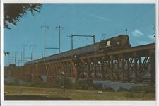 Penn Central 4889 GG-1 Electric Power Train Southern RY and Amtrak Postcard