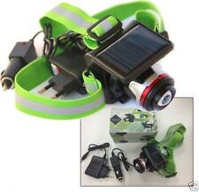 Torch Headlamp CREE LED Rechargeable With Solar Panel Sc0
