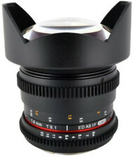 Obiettivi Samyang per fotografia e video Nikon 14mm