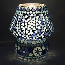 Multicolour Mosaic Style Dome Shaped Glass Table Lamp #SJ257