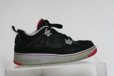 Nike Air Jordan AJF 4 IV Sneaker 09' Athletic Multi Bred 6.5Y Youth Hip B-Ball