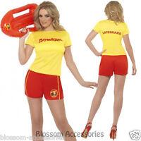 CL181 Womens Baywatch Lifeguard Beach Patrol Ladies Fancy Dress Costume Outfits