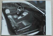 Ferrari 365 GTC/4 Pininfarina Photo Press book buch brochure prospekt depliant