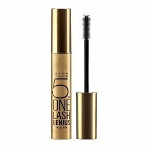Avon True 5 in One Lash Genius Mascara Blackest Black 10ml New & Sealed