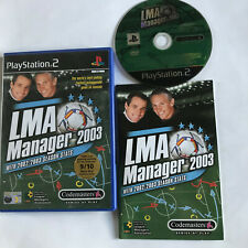IMA Manager 2003/Playstation 2 ps2/komplett/Fußball