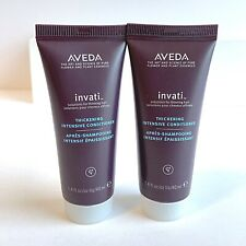 2 AVEDA Invati Thickening Intensive Conditioner 1.4oz Travel Size New