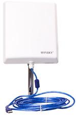 AKTIV-ANTENNE WIFISKY 2000 mW + 36 dBi + 5 m QUALITATIV HOCHWERTIGE USB-Kabel 2.