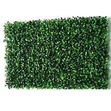 Artificial Plant Foliage Hedge Grass Mat Turf Realistic Garden Lawn Green Grass