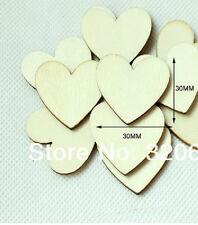 150 cuori cuoricini segnaposto matrimonio legno segna posto bomboniera CERIMONIA