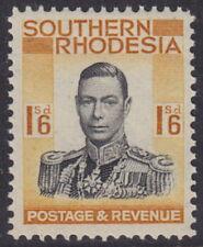 SOUTHERN RHODESIA - 1937 1s6d Black and orange-yellow - UM / MNH