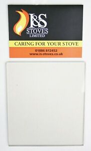 Aarrow Stratford TF90 Replacement Stove Glass 391 x 244mm - STOVE GLASS