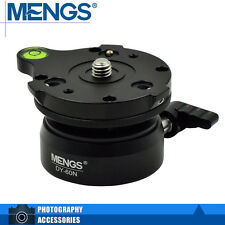 "MENGS DY-60N Professional Tripod Leveling Base Compatibility 3/8"" Tripod"