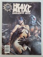 HEAVY METAL GREATEST HITS MAGAZINE SPECIAL ISSUE 1994 CHICHONE & CORBEN COVERS!