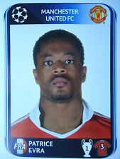 Panini 146 Patrice Evra Manchester United UEFA CL 2010/11