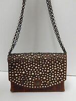 Michael Morrison MX Jeweled Leather Crossbody Belt Bag USA