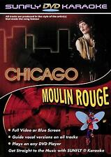 CHICAGO/MOULIN ROUGE SUNFLY KARAOKE DVD 12 HIT SONGS
