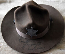 "Scarce Authentic Ronald Lee Ermey Hand ""SIGNED"" Hat"