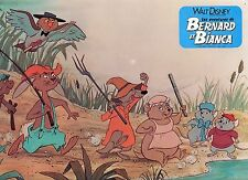BERNARD ET BIANCA The Rescuers WALT DISNEY VINTAGE LOBBY CARD PHOTO N°14