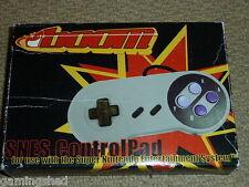 SUPER NINTENDO SNES controlador Gamepad Pad de control de juego -! totalmente Nuevo! en Caja