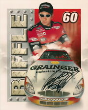 Greg Biffle signed BGN *ROOKIE* GRAINGER #60 8x10 photo