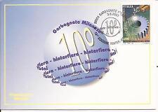 3-6-2001 ANNULLO SPECIALE HINTERFIERA GARBAGNATE MILANESE SUL L. 800 IL LAVORO