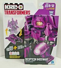 Decepticon Shockwave Kre-o Transformer 73 Pieces  Hasbro  6-12 Ages New