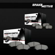 Front and Rear Ceramic Brake Pads For  2003 2004 2005 LINCOLN AVIATOR