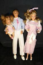 Barbie et Ken vintage Famille Doucoeur Familly Heart 1986