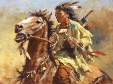War Chief Artist Proof Sold Out Edition by Howard Terpning