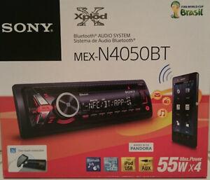 Sony MEXN4050BT Bluetooth MP3/WMA Car Tuner Player 2 RCA 55W x 4