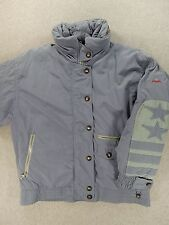 Bogner Goose Down Fill Vintage Winter Jacket (Womens Size 12) Blue