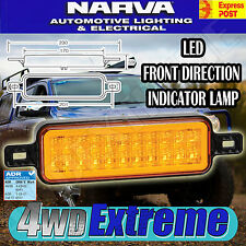 NARVA 95200 LED 1x INDICATOR AMBER FRONT MODEL 52 LAMP LIGHT 4 ARB BULL BAR