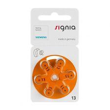 30 x Siemens Signia Hörgerätebatterien 1,45V 300mAh 13 5x6er-Pack P13MF PR48