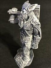 Thor Gott des Donners und Blitzes Marmor Krümel Figur Souvenir