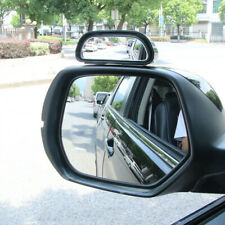 2pcs Blind Spot Mirror Wide Angle Stick On Car Sides Rearview Mirror Accessory