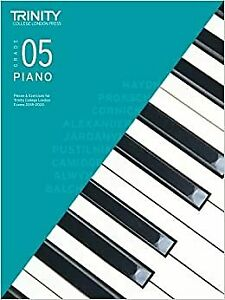 Trinity College London Piano Exam Pieces Exercises 2018 2020 Grade 5 Piano 2018