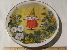 Rien Poortvliet Collector Plate Gnome Four Seasons. Fun And Games. Summer.