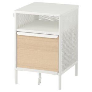 "Brand New IKEA BEKANT Storage Unit With Smart Lock White 16 1/8x24 "" 592.865.57"