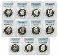 1971-S- 1978-S Eisenhower Ike Dollar PCGS PR69DCAM -11 Coin Set - FREE SHIPPING