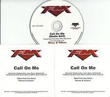 FM Call On Me 2015 UK 1-trk promo test CD