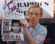 WOODY ALLEN  American TV Film Actor Director Comedian   HAND SIGNED Colour Photo