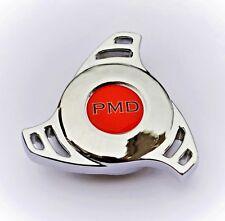 CHROME AIR CLEANER WING NUT SPINNER Edelbrock Holley Quadrajet PONTIAC PMD RED