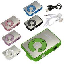✓ MINI LECTEUR MP3 MIROIR AVEC CLIP + ECOUTEURS + CABLE USB AUDIO MICRO SD SDHC